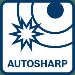 Overlegen skæreydelse via selvslibende Autosharp-kniv