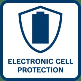 Autonomie élevée de la batterie Protège la batterie des risques de surcharge, de surchauffe et de décharge complète