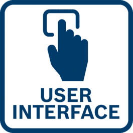 Tiesioginis grįžtamasis ryšys apie įrankį ir nustatymų koregavimas dėl integruotos vartotojo sąsajos ir ryšio funkcijų.