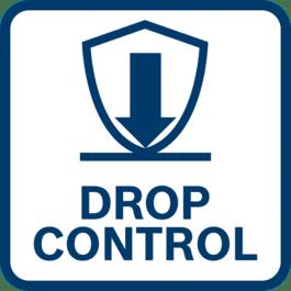 Mayor protección del usuario gracias a la función Drop Control, la herramienta se apaga si se cae accidentalmente