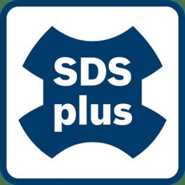 SDS plus darbinstrumentu stiprinājums Optimāla jaudas pārnešana. 2 – 4 kg klases perforatoriem.