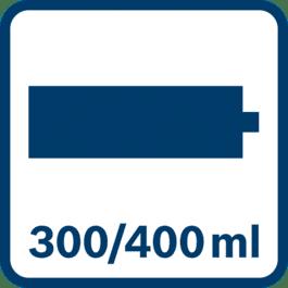 Patruuna 300/400 ml