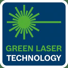 Технология зеленого лазерного луча для улучшения видимости