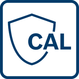 CAL Guard warns, if one of the three following cases have occurred: 1) The measuring tool suffered a severe shock (e.g. impact after a fall) 2) The measuring tool was stored outside of the storage temperature range 3) The calibration interval (every 12 months) has expired
