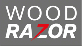 Woodrazor Itin aštrūs ir tiksliai sureguliuoti peiliai.