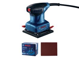 dans boîte en carton avec 3 abrasifs C470, Best for Wood + Paint, 80 (disponible séparément par pack de 5 : 2 608 605 069)