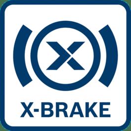 Effizientes Arbeiten mit umfassendem Schutz für den Anwender Wirkt auch bei einem Leistungsabfall und garantiert einen noch schnelleren Stillstand des Werkzeugs als beim normalen Bremssystem