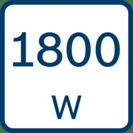 Puissance absorbée 1 800 W
