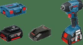 у L-BOXX з 2 x літій-іонними акумуляторами 4,0 A•год