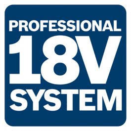 18 V süsteem ühildub samas pingeklassis Bosch Professionali akudega