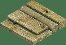 Деревина, оброблена під тиском