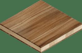Massivholz-Möbelplatte
