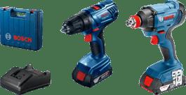 GDX 180-LI + GSR 180-Li 2× 2,0Ah Professional