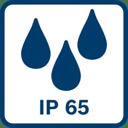 Protezione totale IP65 contro la polvere e protezione contro forti spruzzi d'acqua