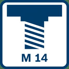 Slipespindelgjenger M 14