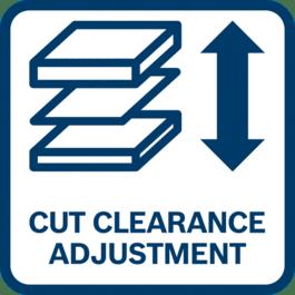 Ajustement optimal grâce à l'espacement entre couteaux réglable pour une adaptation à l'épaisseur du matériau
