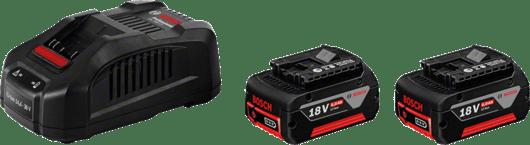 с 2 x 6,0 Ah литиево-йонна акумулаторна батерия