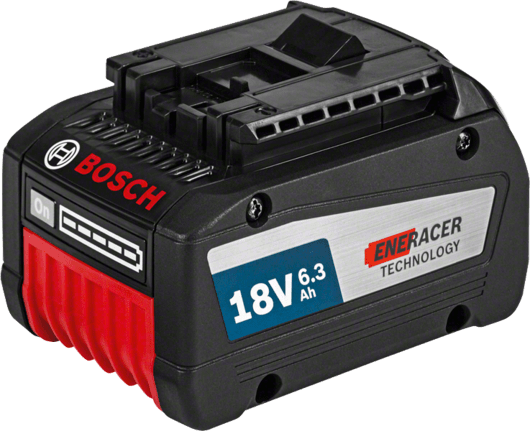 с 1 аккумулятором EneRacer емкостью 6,3 А•ч