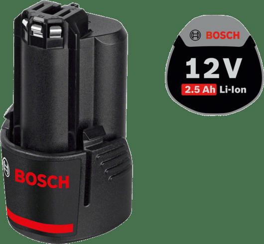 с 1 литий-ионным аккумулятором емкостью 2,5 А•ч