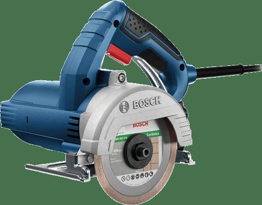 Serra Mármore a úmido Bosch GDC 151 TITAN 1500W 127V, com Kit de refrigeração, 1 Discos em Maleta plástica Professional