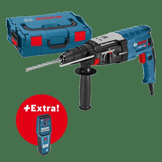 Professional készlet: GBH 2-28 F fúrókalapács + GMS 100 M fémkereső L-BOXX tárolóban Professional