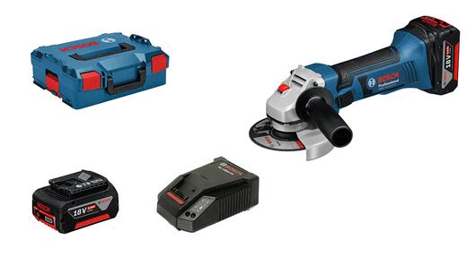 dans L-BOXX avec 2 batteries 5,0 Ah Li-Ion, set d'accessoires