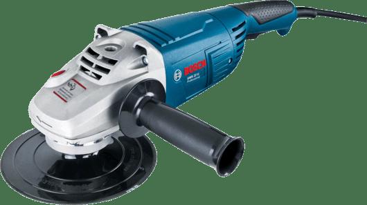 Lixadeira Angular Bosch GWS 22 U 2200W 220V, com 1 Chave de aperto, Prato de apoio e Punho auxiliar Professional