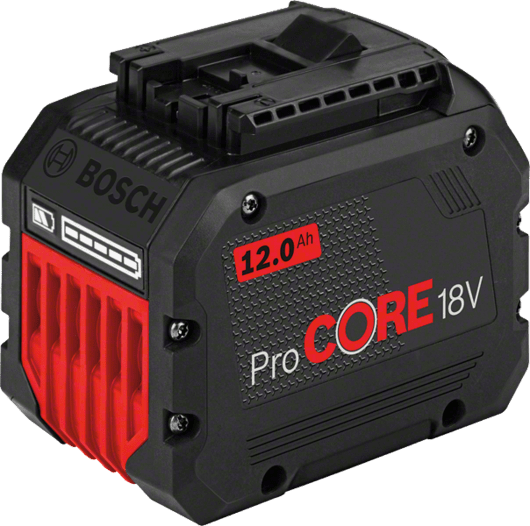 in cardboard box with 1 x 12.0 Ah ProCORE18V Li-ion battery