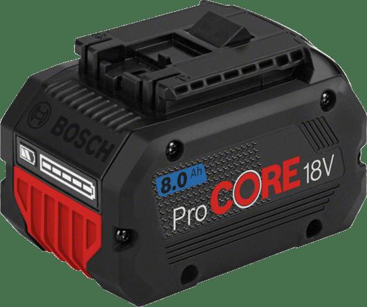 u kartonskoj kutiji s 1 x 8,0 Ah ProCORE18V litij-ionskim akumulatorom