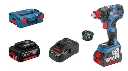 with 2 x 5.0 Ah Li-ion battery, 1 x Bluetooth Low Energy module GCY 30-4 (1 600 A00 R26)