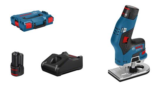 в L-BOXX с 2 аккумуляторами 3,0 А•ч, c комплектом принадлежностей