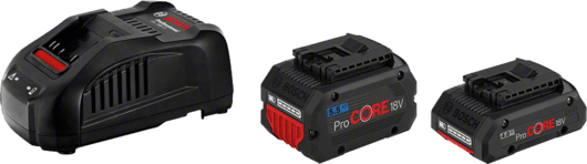 в картонена кутия с 1 x 4,0 ProCORE18V Ah литиево-йонна акумулаторна батерия