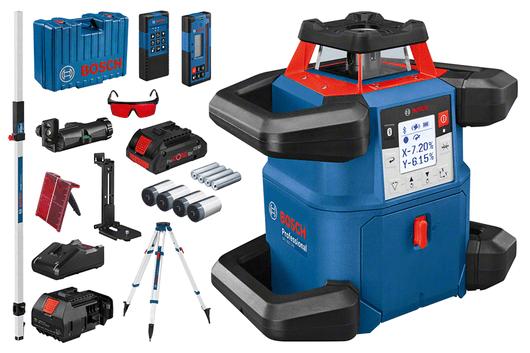 vprenosnom kufríku s1 akumulátorom 4,0 Ah ProCORE18V Li-ion, scieľovou tabuľkou pre laser
