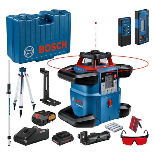 u kutiji za alat s 1 x ProCORE18V 4.0Ah litij-ionskim akumulatorom, laserskom ciljnom pločom