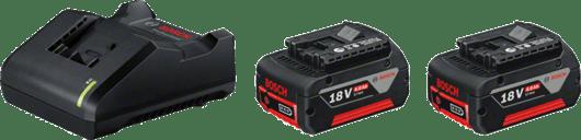 2 GBA 18V 3.0Ah + cargador bivoltio AL 1814 CV Professional
