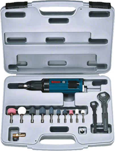 Pneumatic straight grinder set Professional