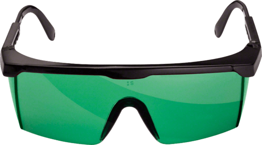 Laser viewing glasses (green) Professional