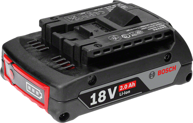 Pack of 12 – Battery Compact 18 V – 2.0 Ah Professional