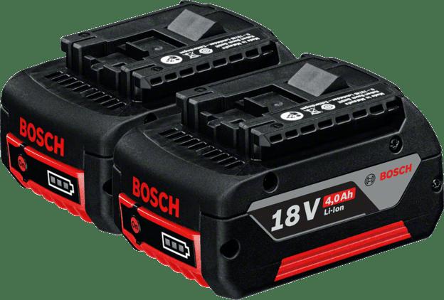 2× GBA 18V 4.0Ah Professional