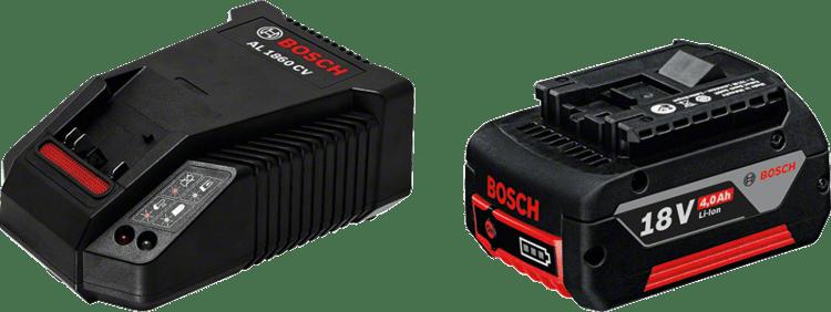 Set pentru începători GBA 18V 4,0 Ah + AL 1860 CV Professional