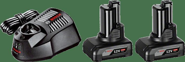 Základná súprava 2× GBA 12V 6,0 Ah + GAL 1230 CV Professional