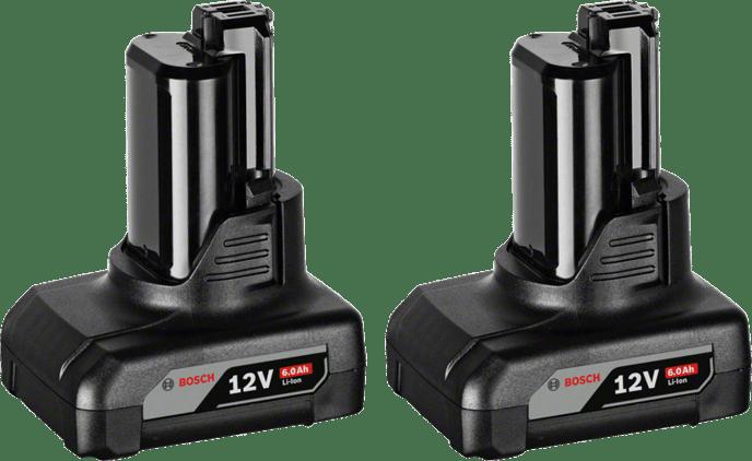 2 x GBA 12V 6.0Ah Professional
