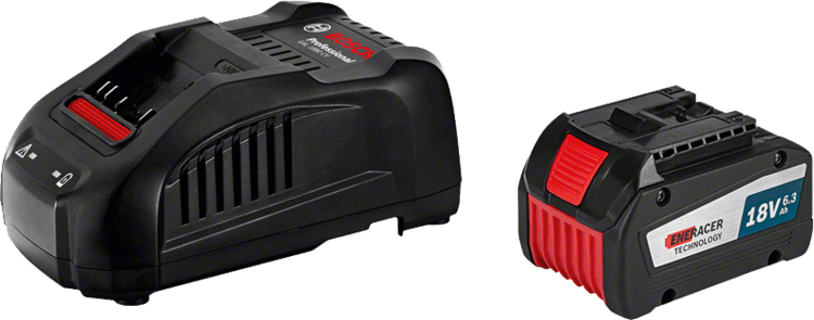 Set pentru începători 2 x GBA 18V 6,3 Ah EneRacer + GAL 1880 CV Professional