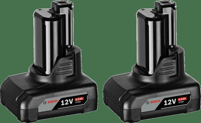 2× GBA 12V 4.0Ah Professional