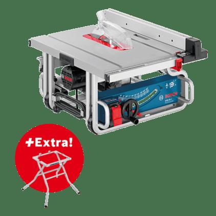 Profesionálna súprava: stolová okružná píla GTS 10 J + pílový podstavec GTA 600 vkartóne Professional