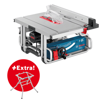 Akcijski komplet: GTS 10 J + delovna miza GTA 600 Professional