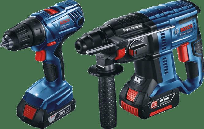GSR 180-LI + GBH 180-LI Professional