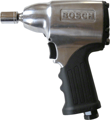"Pneumatic 3/8"" impact wrench with 1/2"" drive end Professional"