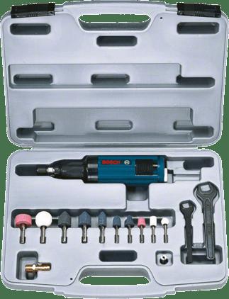 Комплект пневматической прямой шлифмашины Professional