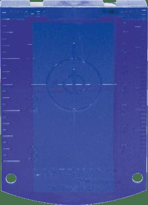 Laserska tarča (modra) Professional